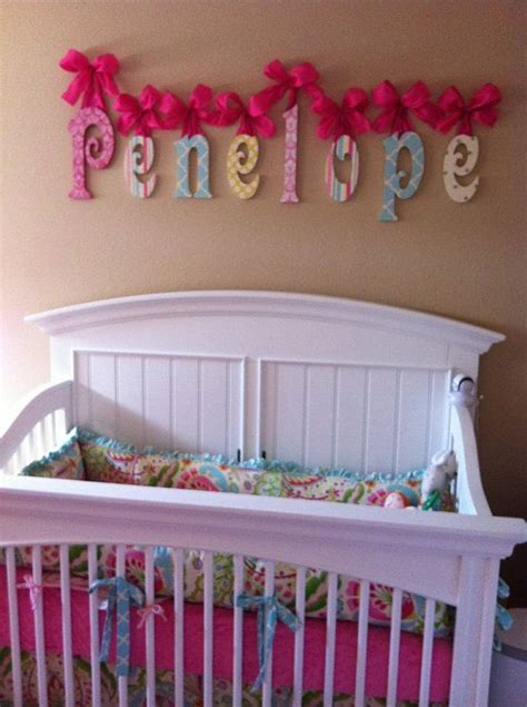 baby name letters for wall nursery name sign wooden name nursery name glittered