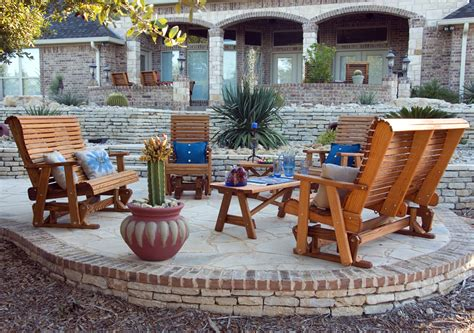 Outdoor Furniture Wood Patio Sets For Sale In Texas