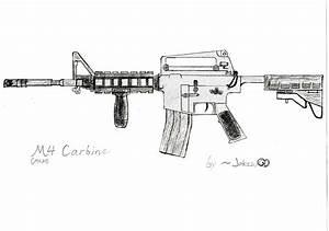 Colt M4A1 Carbine by JakezuGD on DeviantArt