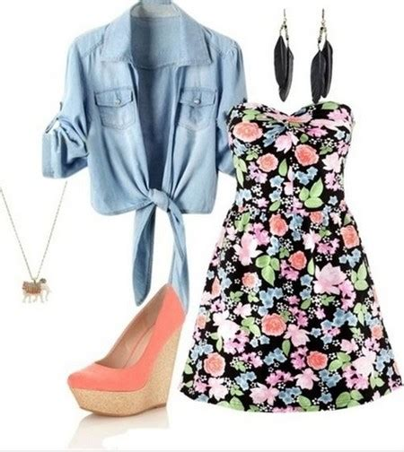 10 Cute Outfit Ideas for Spring 2014 - Pretty Designs