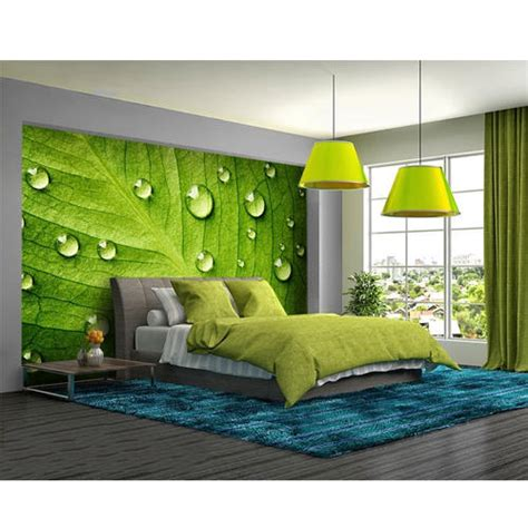 horizontal vinyl  paper bedroom wallpaper rs