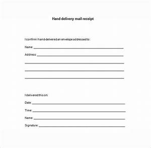 15 delivery receipt template pdf doc free premium With hand delivered documents
