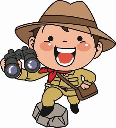 Explorer Clipart Binoculars Transparent Clip Explore Cliparts