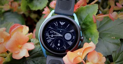 emporio armani smartwatch  review