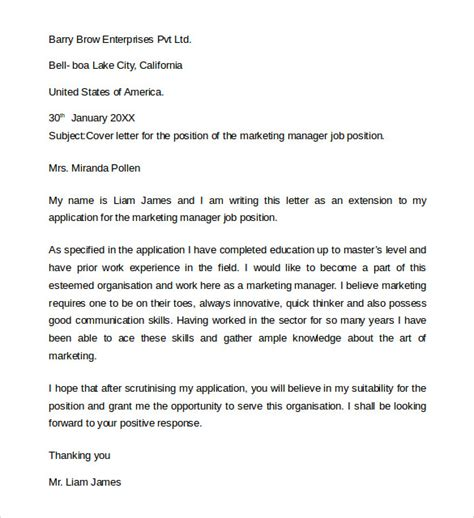 job application cover letters samples examples