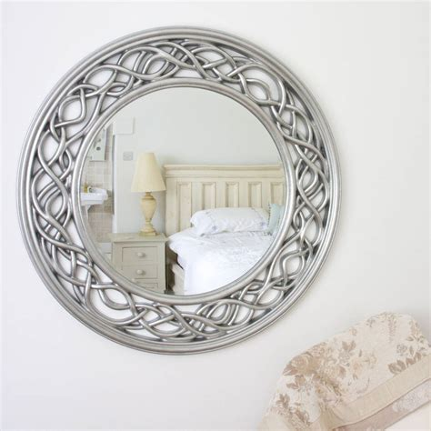 twisted elaborate  mirror  decorative mirrors