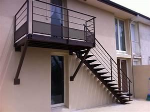 realisation flin modele escalier exterieur 100 metal With modele d escalier exterieur