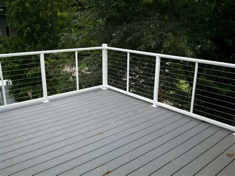 Cable Railings - Straight Line Fence