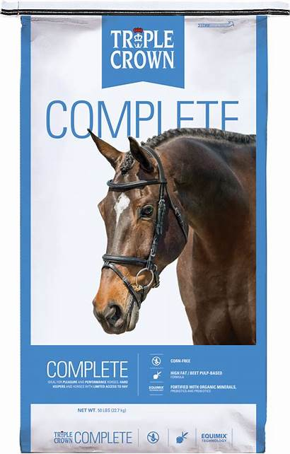 Complete Triple Crown Feed Horse Equine Feeds