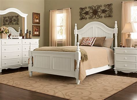 raymour and flanigan white headboard willow point 4 pc bedroom set white raymour