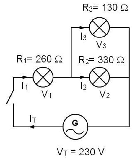 circuitos electricos partes y tipos