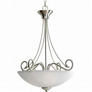 Progress lighting pavilion collection light brushed