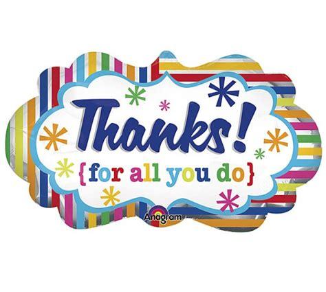 Thanks For All You Do Supershape  Giftbagae  Online Gifts For Dubai, Abu Dhabi, Uae