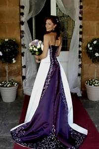 White and purple wedding dress naf dresses for Royal purple and white wedding dress
