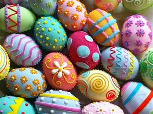 30 Easy and Creative Easter Egg Decorating Ideas! moco-choco
