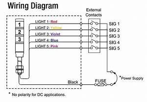 Allen Bradley 855e Stack Light Wiring Diagram
