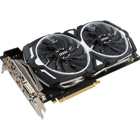 MSI GeForce GTX 1070 ARMOR 8G OC Graphics GTX 1070 ARMOR 8G OC