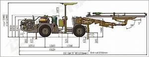 Kj311 Underground Mining Drill Rigs And Tunneling Jumbo Crawler Dth Drilling Rigs