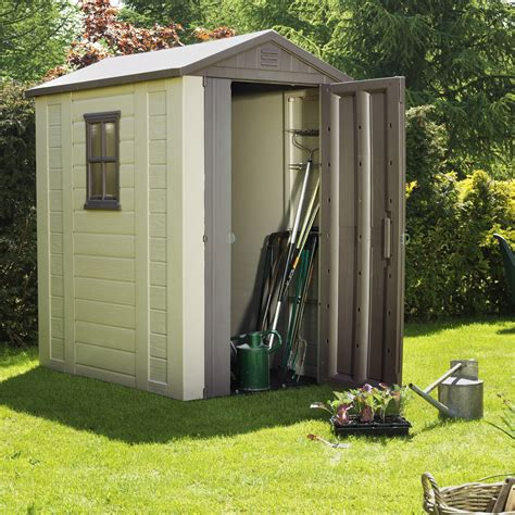 Argos 6 X 10 Shed by Mostyn Chneys Shopping Park In Llandudno