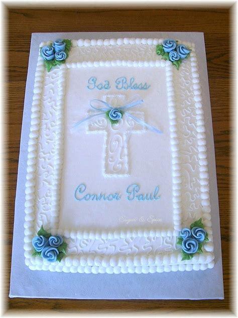 Connor's First Communion on Cake Central Dessert ideas