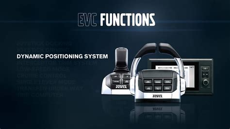 volvo penta electronic vessel control evc  work youtube