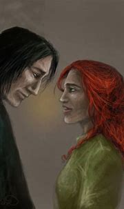 Severus Snape and Lily Evans in 2021   Snape and lily ...