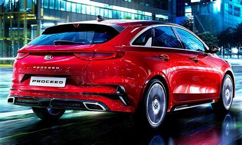 kia pro ceed gt  schwarz  car reviews cars