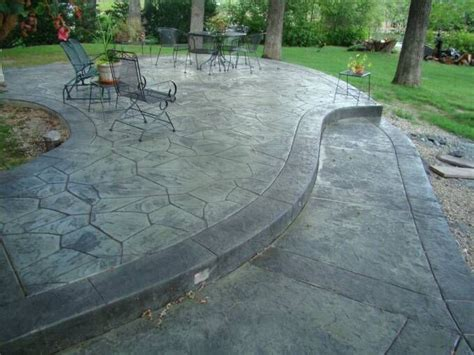 the 30 best images about concrete patio on