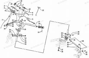 Arctic Cat Atv 2001 Oem Parts Diagram For Steering Assembly