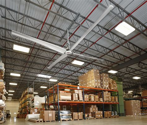 warehouse exhaust fan installation how hvls fans and curtain walls improve indoor air quality