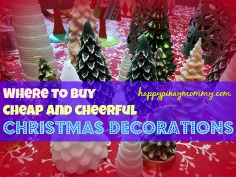 Where To Buy Cheap Christmas Decorations In The