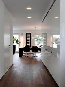 The White Walls And Wooden Floor