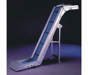 convoyeur elevateur aluminium a bande en z devis With tapis elevateur a bande