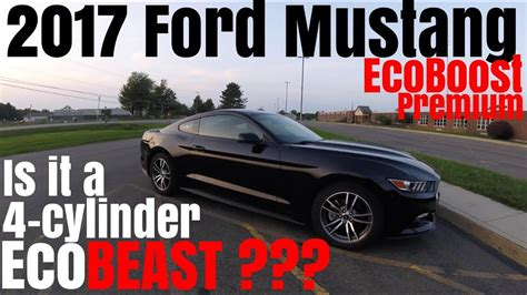 ford mustang ecoboost premium   review youtube