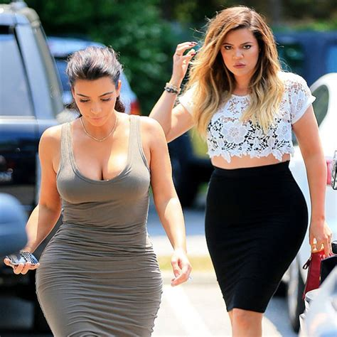 Kim & Khloé Show Skin, Kris & Kourtney Dress Alike in the ...