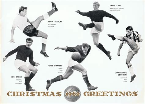 1962/63 Gigi Peronace | Unusual large glossy Christmas ...