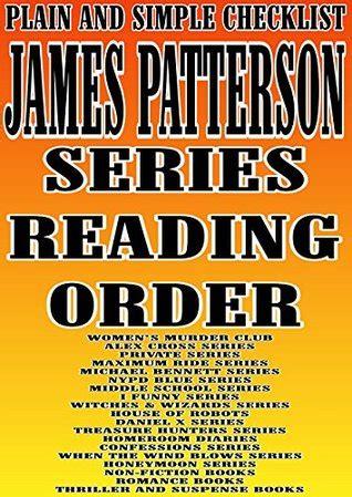 james patterson series reading order plain  simple