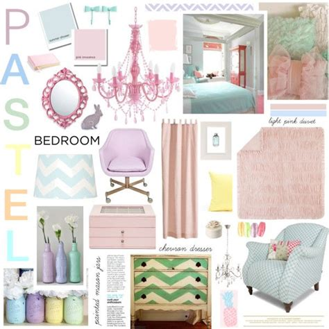 Pastel Bedroom by