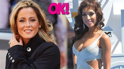Ok Exclusive Jenelle Evans Defends Farrah Abrahams