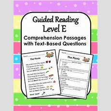 11 Best Images About Edu  Textbased Questions On Pinterest  Guided Reading Levels, Reading