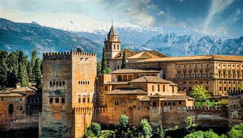 andalusia granada alhambra cities worldation
