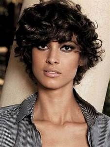 2019 Latest Short Haircuts For Frizzy Wavy Hair