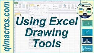 Using Drawing Tools In Excel 2007  2010 And 2013