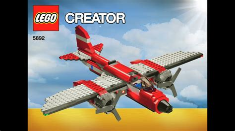Lego Boat Plane by Lego Sonic Boom Jet Boat Plain 5892 Set Plane