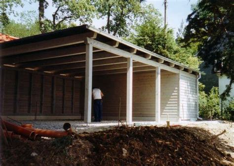 Simple Carport With Side Storage  To Decorate Pinterest
