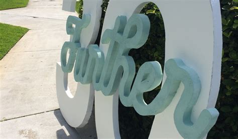 large foam letters signs universal foam products styrofoam eps foam 15424