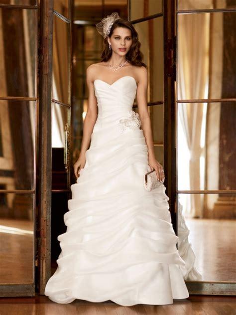 davids bridal galina signature sweetheart strapless