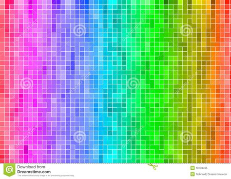 rainbow multicolor abstract pixel wallpaper stock