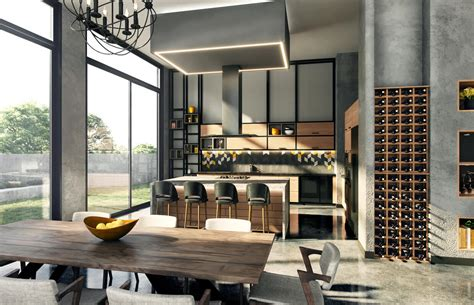 industrial house design architectural exterior