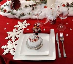 Idee Deco De Table Noel : decoration de noel table ~ Zukunftsfamilie.com Idées de Décoration